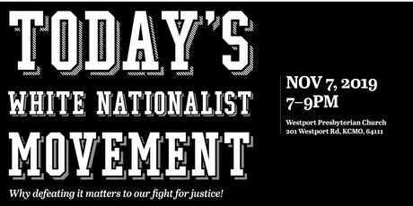 White Nationalism: Why defeating it matters to our fight for justice tickets