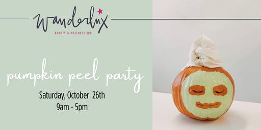 Pumpkin Peel Party - Peels, Body Treatments & More!