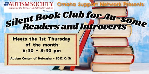 Silent Book Club for Au-some Adults & Introverts