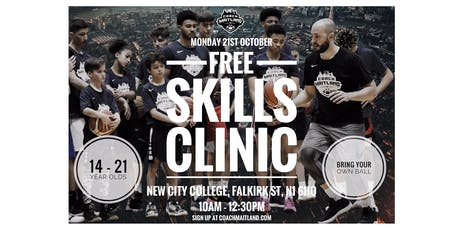 Free Skills Clinic with Coach Maitland tickets