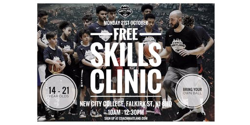 Free Skills Clinic with Coach Maitland