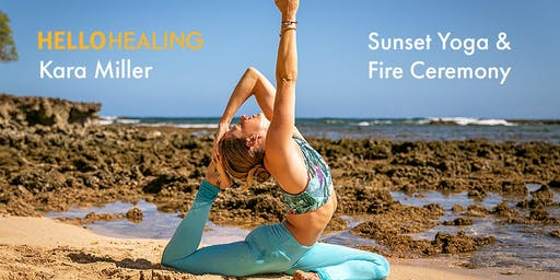 Sunset Yoga & Fire Ceremony