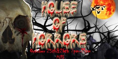 PNHS House of Horrors Haunted House tickets