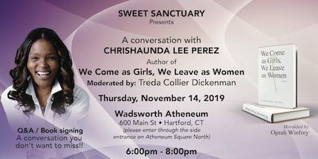 A conversation with Chrishaunda Lee Perez tickets