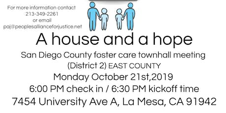 A house and a hope: Foster Care meeting (San Diego East County) tickets