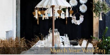 Match Your Wedding @Hemels Breda tickets