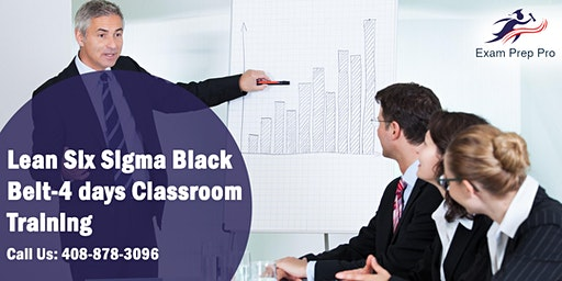 Lean Six Sigma Black Belt-4 days Classroom Training in Jefferson City,MT
