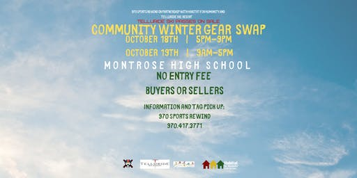 Community Winter Gear Swap