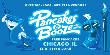 The Chicago Pancakes & Booze Art Show tickets