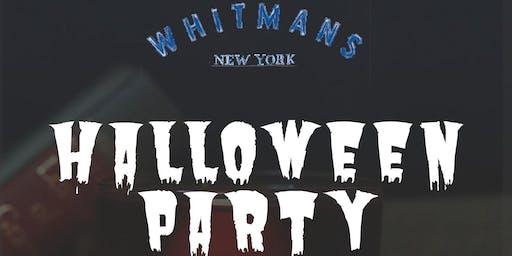 Whitmans Halloween Party