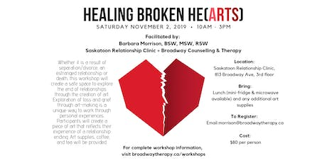 HEALING BROKEN HE(ARTS) tickets