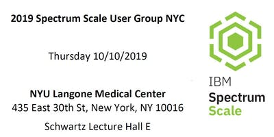 2019 Spectrum Scale User Group NYC