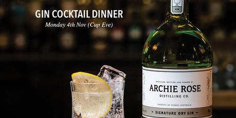 Archie Rose x MoVida Lorne - Gin Cocktail Night tickets