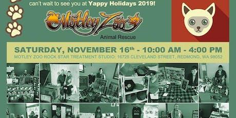 Yappy Holidays Craft Bazaar & Bake Sale Benefiting Motley Zoo Animal Rescue tickets