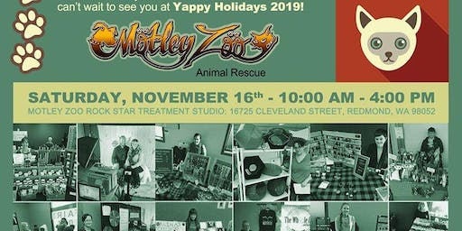 Yappy Holidays Craft Bazaar & Bake Sale Benefiting Motley Zoo Animal Rescue