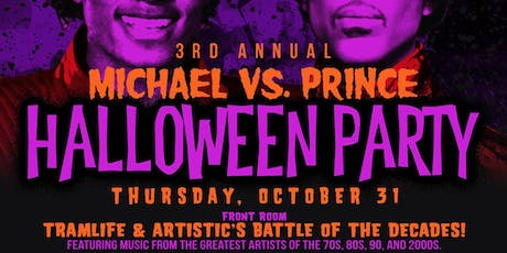 Halloween Party - Michael vs. Prince tickets