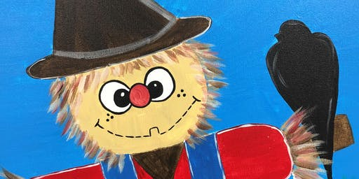 Kids Scarecrow Painting