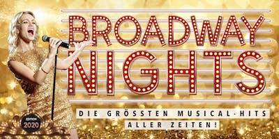 BROADWAY NIGHTS - Die größten Musical-Hits aller Zeiten | Mannheim