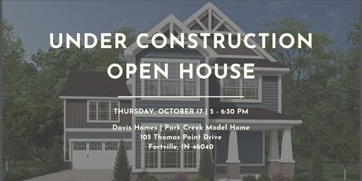 Park Creek Model Home | Under Construction Open House