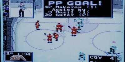 Pixelated Heroes preceded by Daddy Hockey
