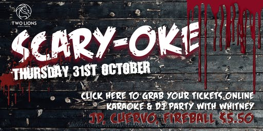 Scary-Oke Halloween Karaoke