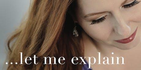 Let Me Explain: Album Release Performance tickets