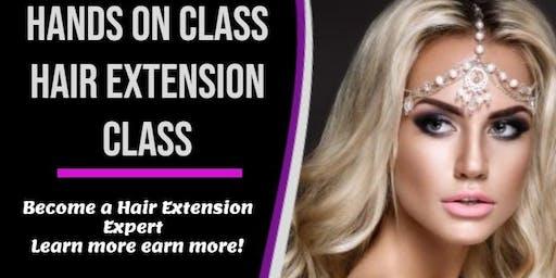 Omaha, NE /Hair Extension 2 Week Certification Program