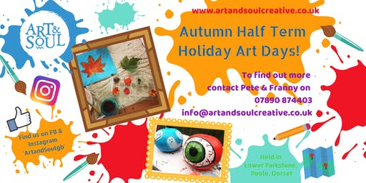 Autumn Half Term Holiday Art Day