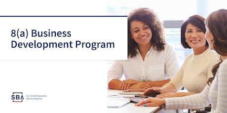 Learn about the SBA 8(a) Business Development Program tickets