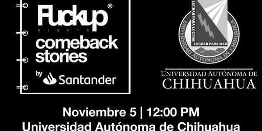 Comeback Stories by Santander y Fuckup Nights