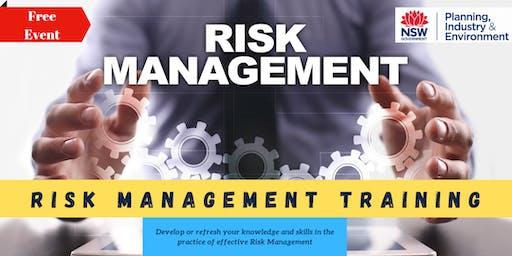 DPIE Risk Management Training Workshop
