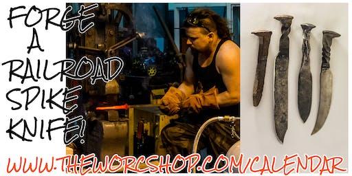 Forge a Railroad Spike Knife with Jason Scott 12.21.19