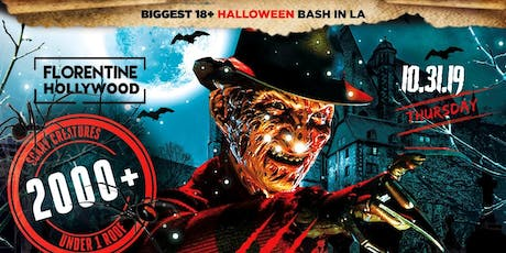 Power 106 Nightmare on Hollywood Blvd 18+ at Florentine Gardens |DJ INFERNO tickets