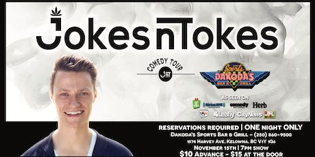 JNT Comedy Kelowna with Headliner Andrew Packer tickets