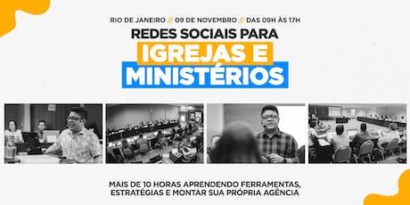 Redes Sociais para Igrejas e Ministérios | Thiago Lobos ingressos