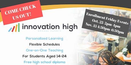 Learn4Life: Innovation High School Enrollment Event tickets
