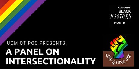 University of Manchester QTIPOC Society: A Panel on Intersectionality tickets