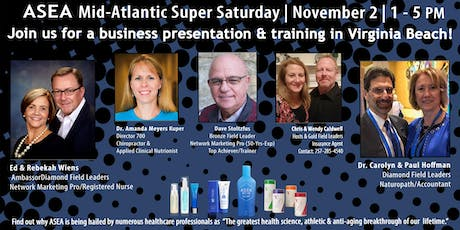 ASEA Mid- Atlantic   Super Saturday tickets