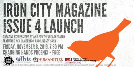 Iron City Magazine Issue 4 Launch tickets