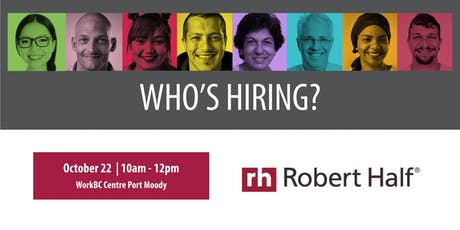 Who's Hiring? Robert Half tickets