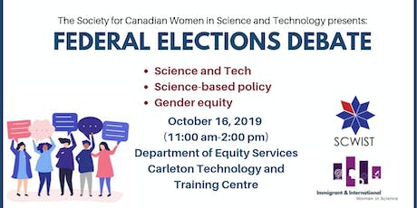 Science & tech, science-based policy and gender equity Election Debate tickets