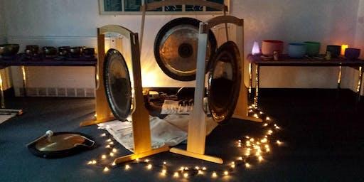 Sacred Sound Inspirations Imbolc Gong Bath Epping 29th January 2020