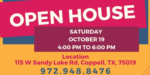 Open House and Information Session
