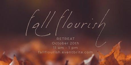 Fall Flourish Retreat  tickets