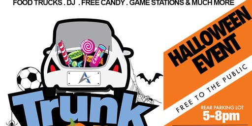 Trunk Or Treat Halloween Event