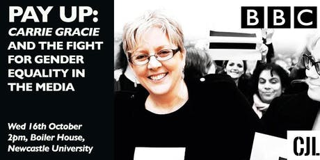 Pay up: Carrie Gracie and the fight for gender equality in the media tickets