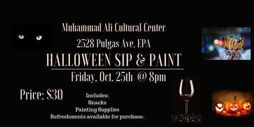 Halloween Sip & Paint