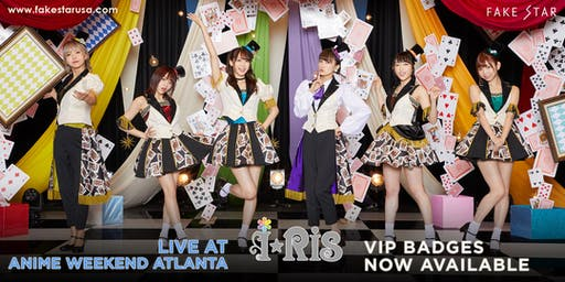 i☆Ris VIP at Anime Weekend Atlanta