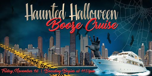 Haunted Halloween Booze Cruise on November 1st
