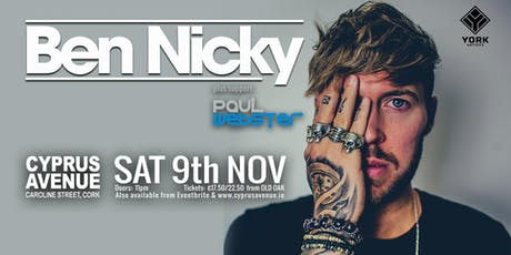 BEN NICKY - Cork tickets